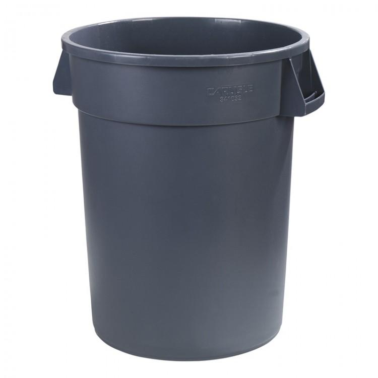 Round Bronco Waste Container 76L