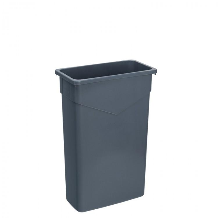 Trimline Grey Container 60L