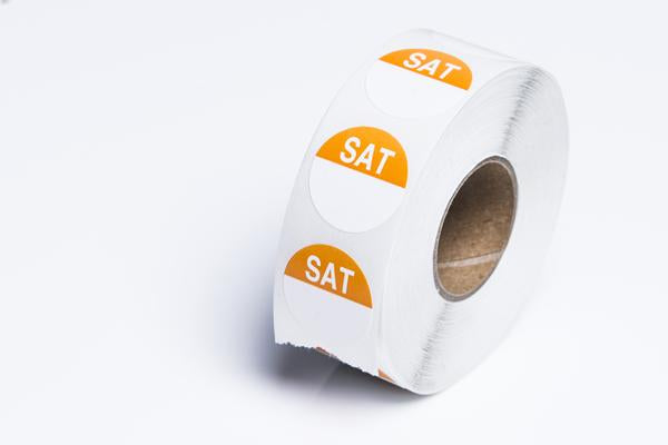 SATURDAY - Round Day Dot- Box of 1000
