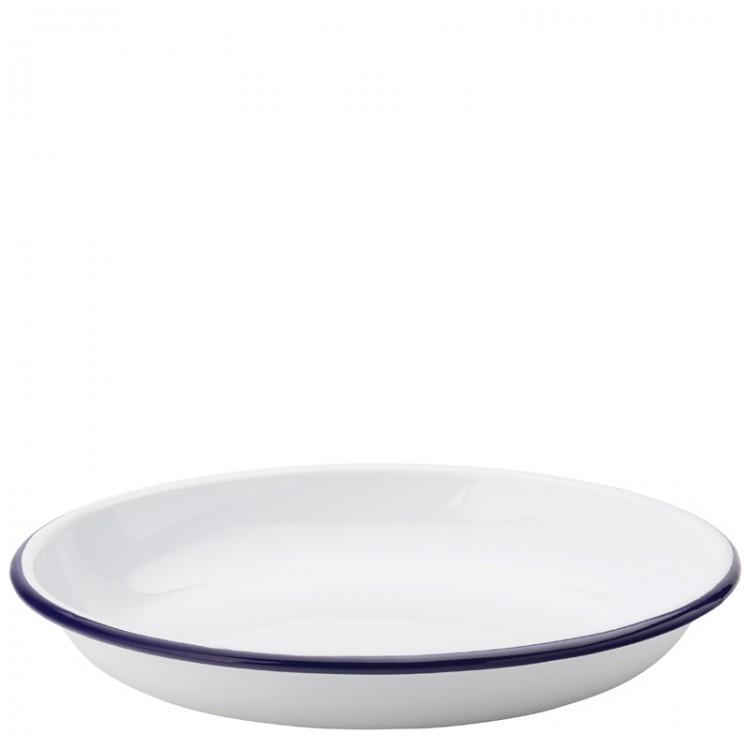 "Eagle Enamel Deep Plate 9.5"" (24cm) (box of 6)"