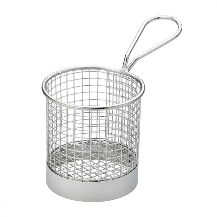 "Round Service Basket 3.5"" (9cm) (box of 6)"