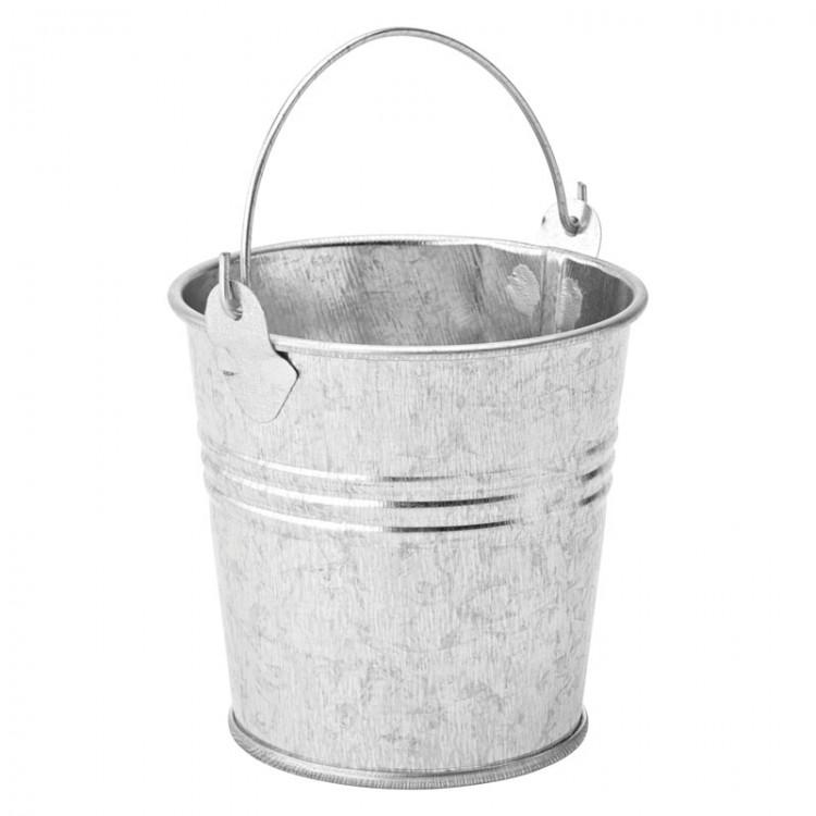"Galvanised Pail 3"" (7.5cm) 9.25oz (26cl) (box of 6)"