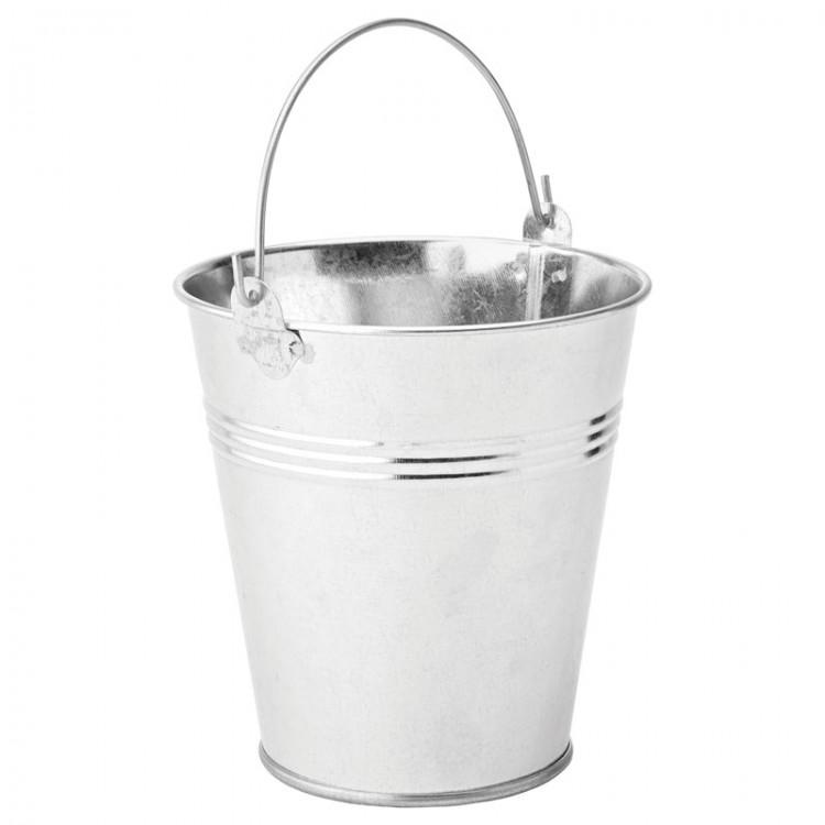 "Galvanised Pail 4.75"" (12cm) 31oz (88.5cl) (box of 6)"