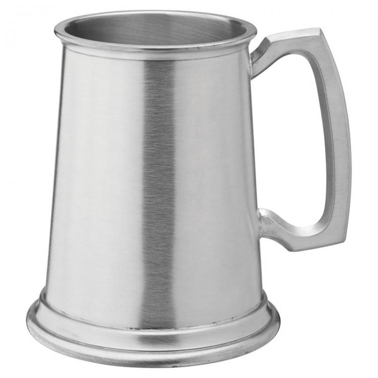 Albany Brushed Pewter Tankard 20oz (58cl) CE Pint