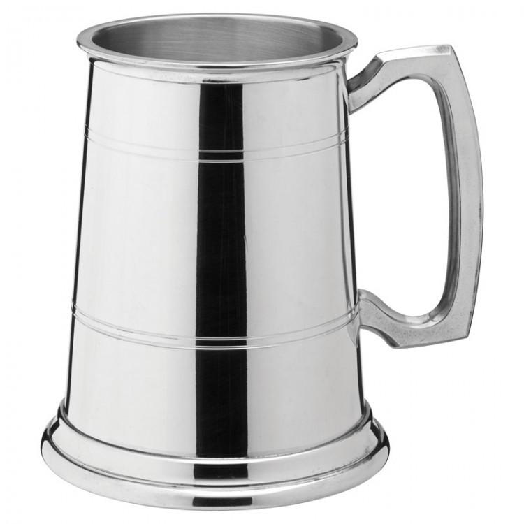 Albany Polished Pewter Tankard 20oz (58cl) CE Pint