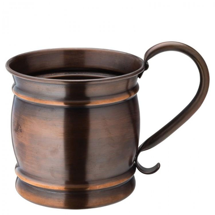 Aged Copper Barrel Mug 19oz (54cl) (box of 6)