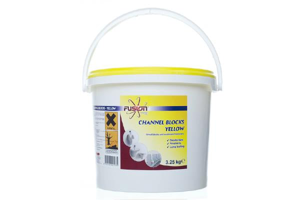 Channel Block Yellow - Lemon 3KG Tub