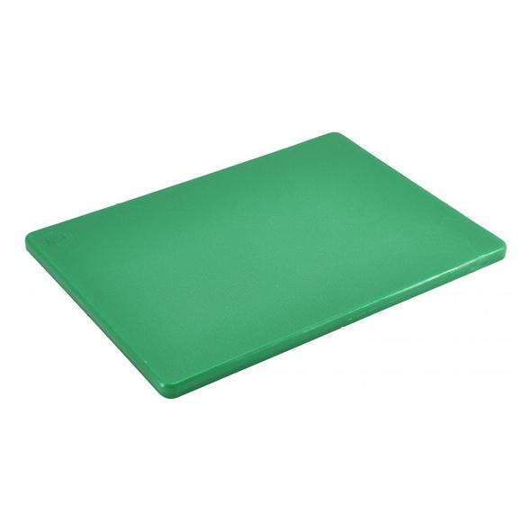 "Green 1/2"" Low Density Small PE Cutting Boards"