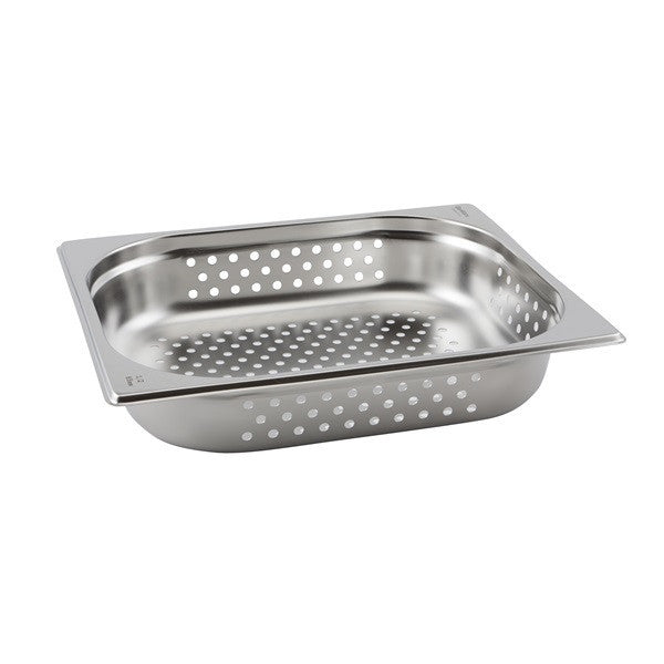 Perforated St/St Gastronorm Pan 1/2 - 65mm Deep