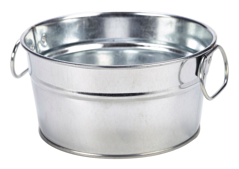 Galvanised Steel Serving Bucket 15 x 8cm