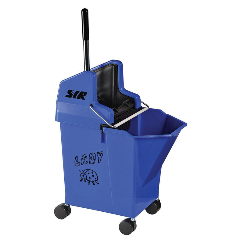 Kentucky & Flat Mop Bucket Combo Blue
