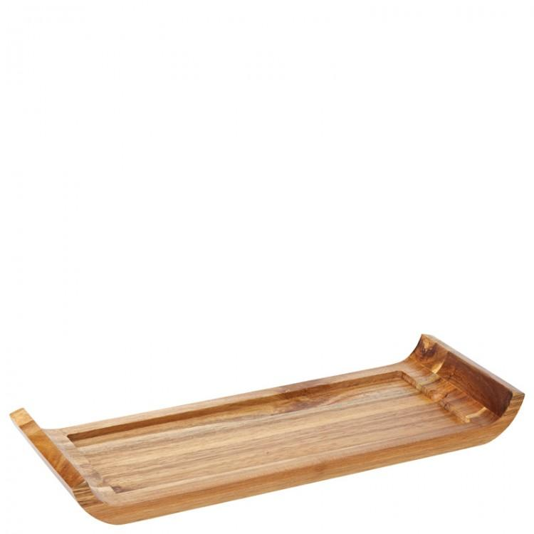 "Reversible Acacia Board with Indents 16.25 x 6"" (41 x 15cm) (box of 6)"