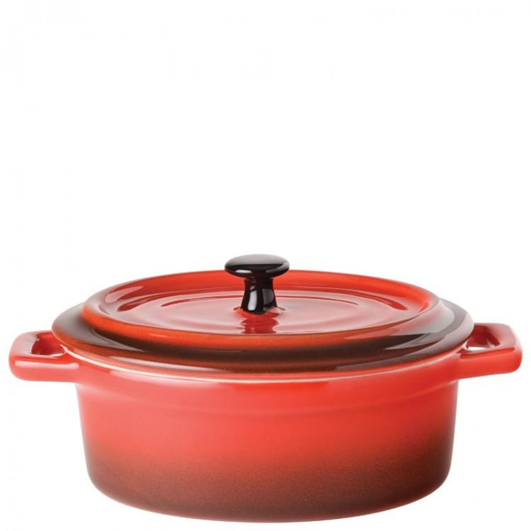 "Flame Oval Casserole 5"" (13cm) 12.5oz (35cl) (box of 6)"