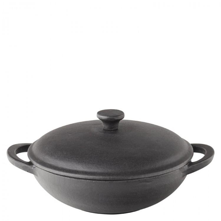 "Mini Wok with Lid 8.5"" (21.5cm) 20oz (58cl) (box of 6)"