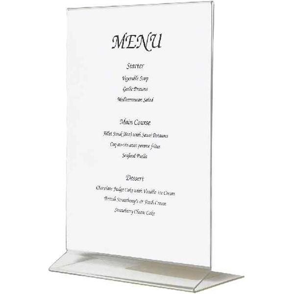 Acrylic Menu Holder A4 size