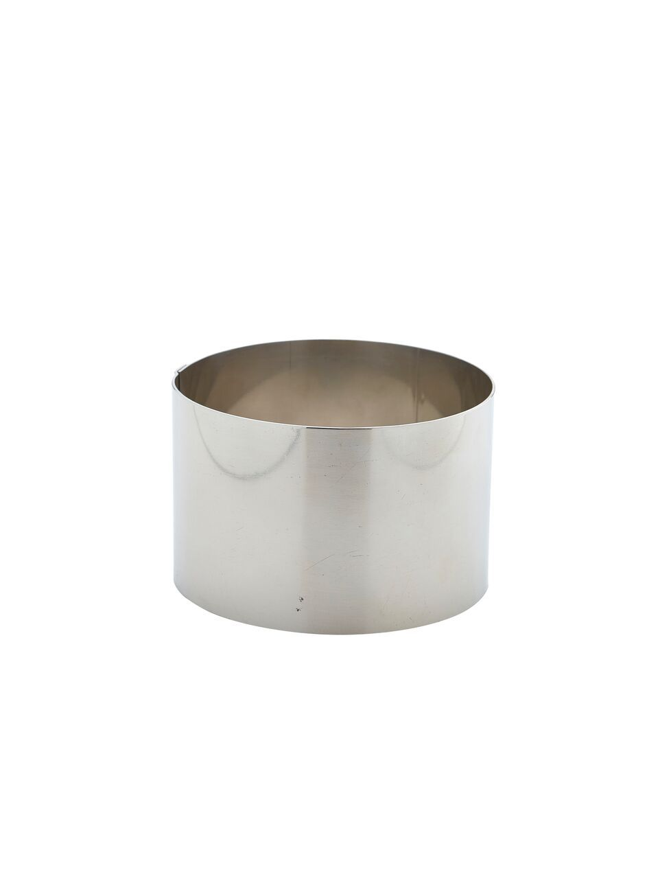 Stainless Steel Mousse Ring 9x6cm