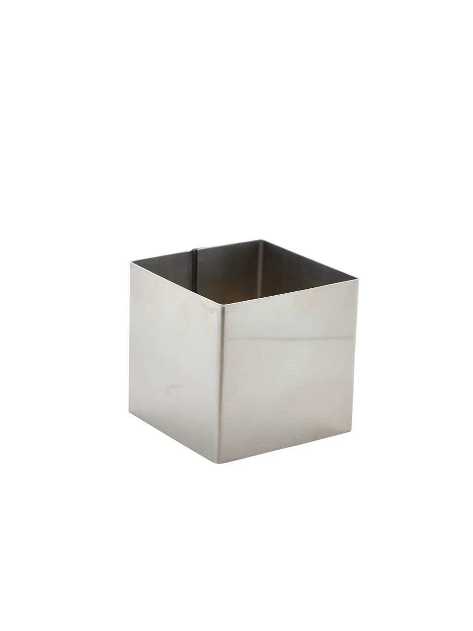 Stainless Steel Square Mousse Ring 6x6cm