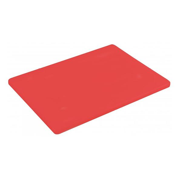 "Red 1/2"" Low Density Small PE Cutting Boards"