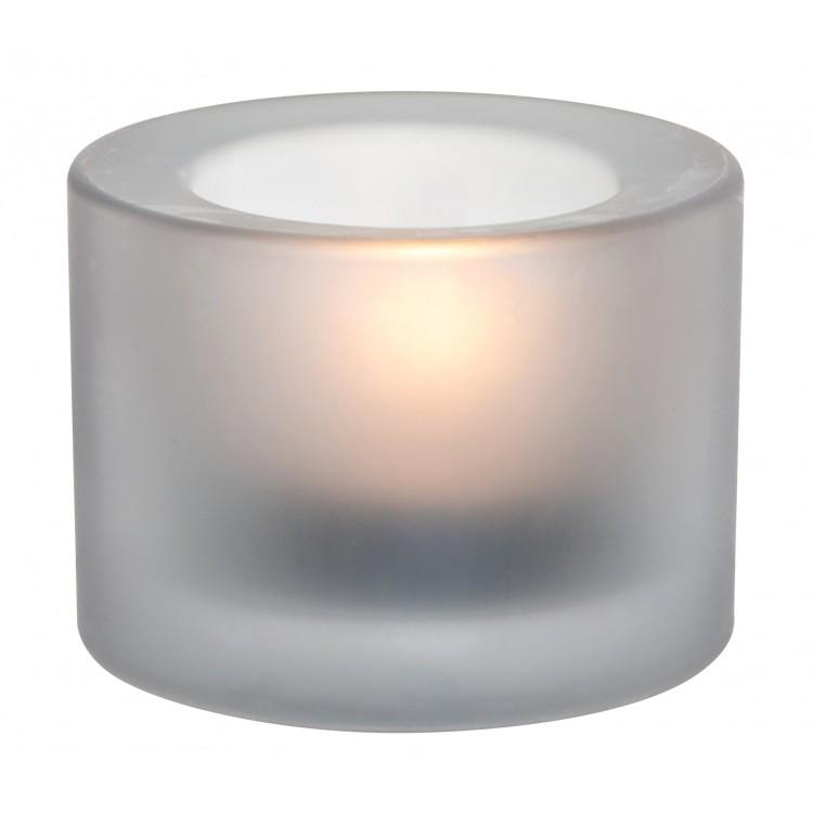 Chunky Tealight Holder - White (box of 12)