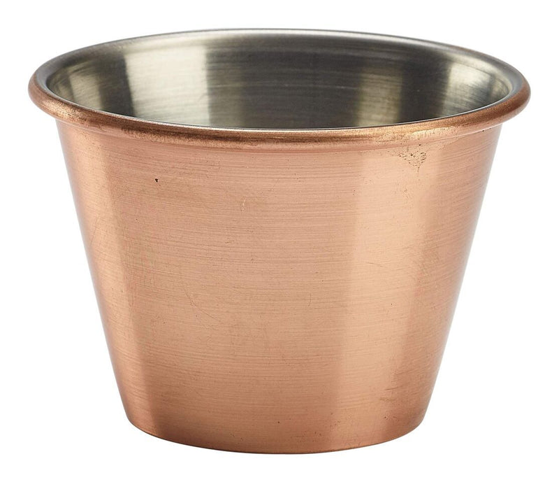 2.5oz Copper Plated Ramekin