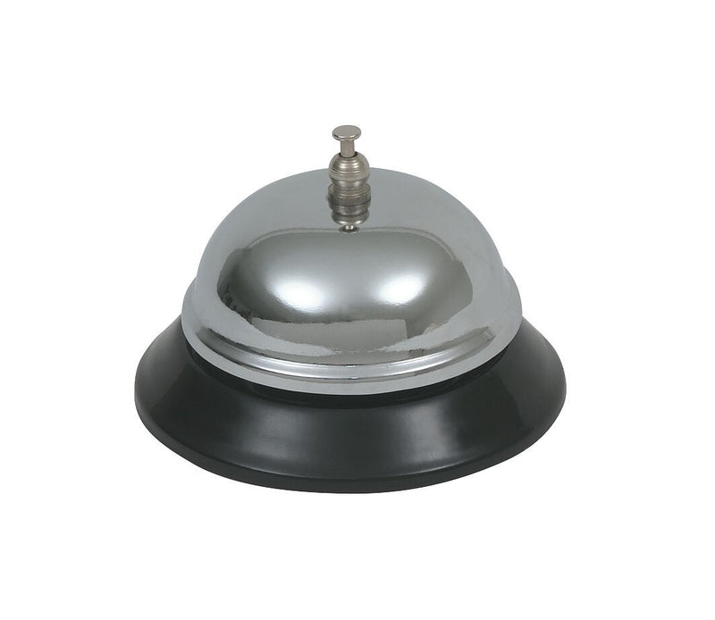 "Chrome Plated Service Bell 3 1/2"" dia"