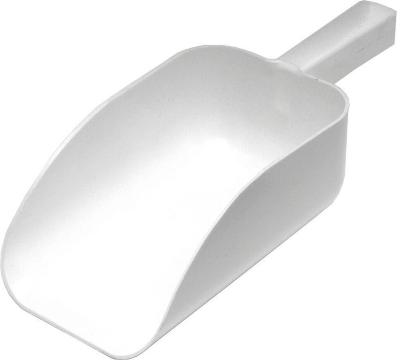 "All Purpose White Scoop 9"", 2 1/4L Cap"