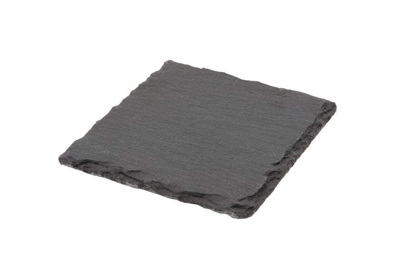 Natural Edge Slate Platter 10 x 10cm