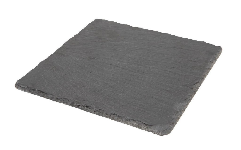 Natural Edge Slate Platter 20 x 20cm