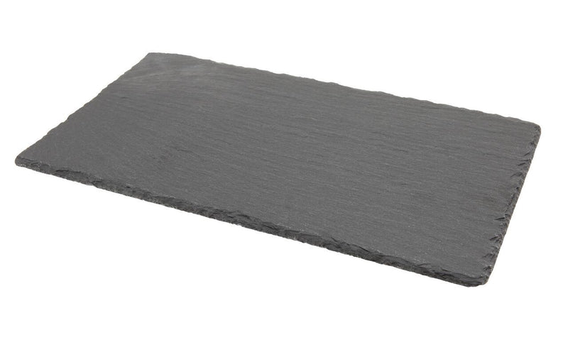 Natural Edge Slate Platter 25 x 13cm