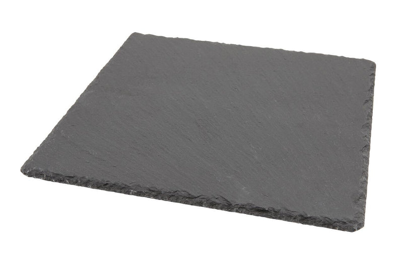 Natural Edge Slate Platter 28 x 28cm