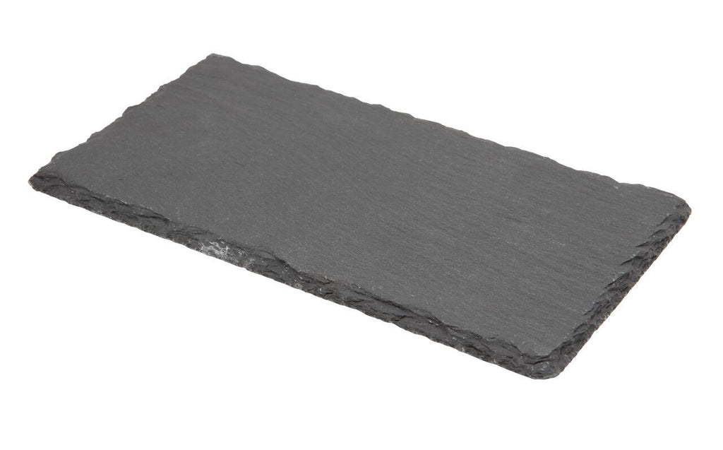 Natural Edge Slate Platter 30 x 20cm