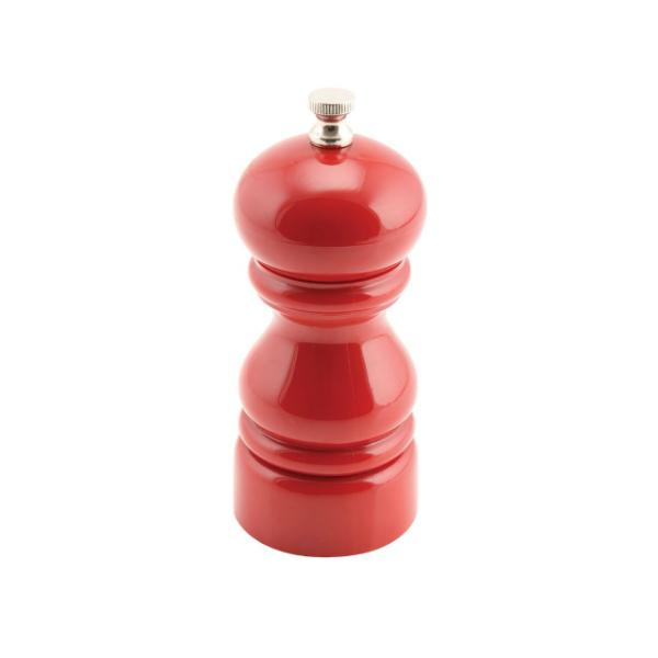 Salt or Pepper Grinder Red 12.7cm