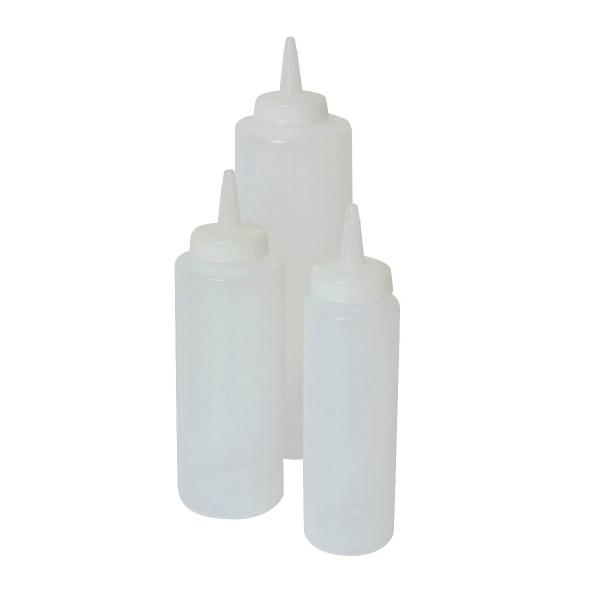 Squeeze Bottle Clear 8oz / 23cl