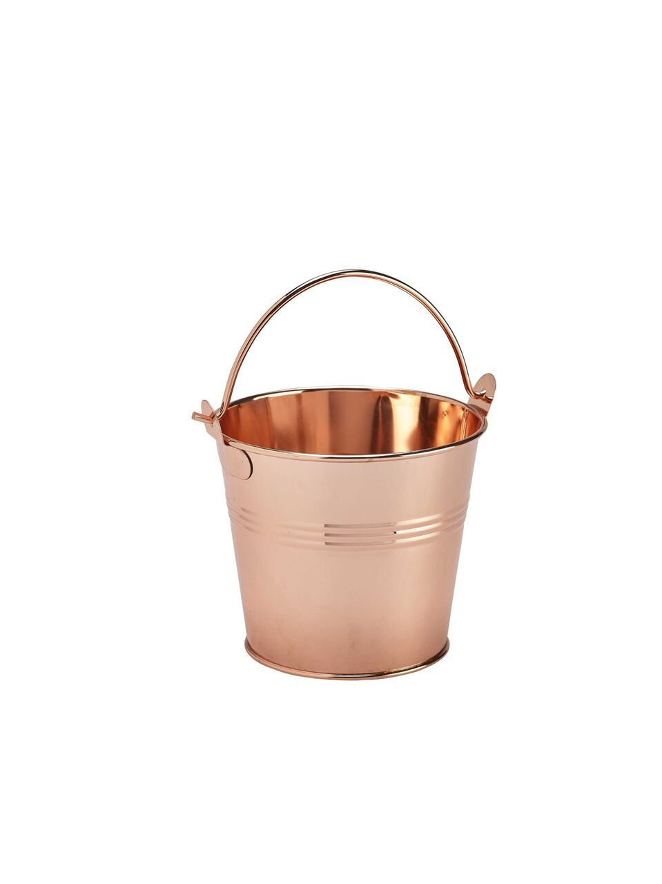 Stainless Steel Serving Bucket 10cm Ø Copper