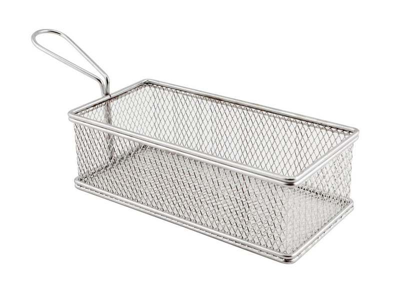 Large Rect. Serving Basket 21.5x10.5x6cm