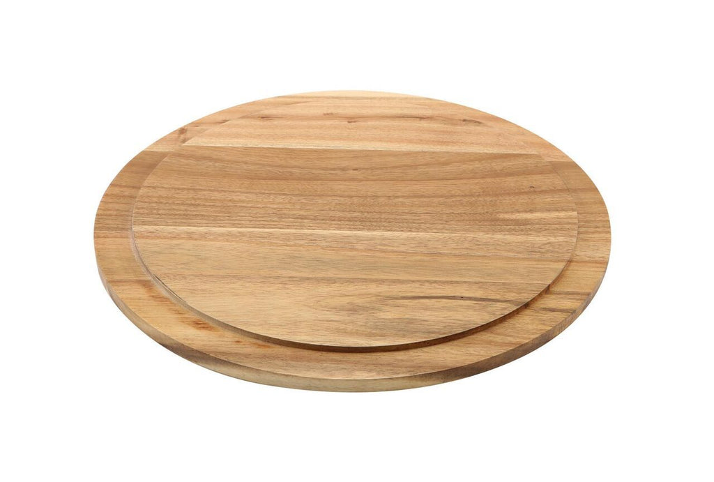 Round Wood Serving / Cake Board 33cm
