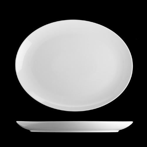 Isabelle Coupe Oval Plate 28cm (box of 6)