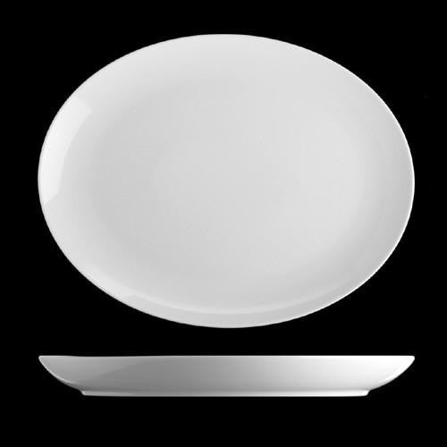Isabelle Coupe Oval Plate 32cm (box of 6)
