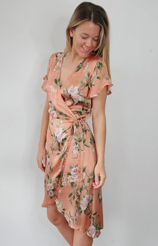 Fabulous Florals - Ella Wrap Dress