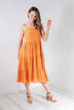 FLORENCE SUNDRESS - ORANGE