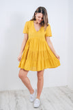 ANNALISA TUNIC DRESS - PRIMROSE YELLOW