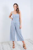 MAYFAIR JUMPSUIT - BLUE PRINT
