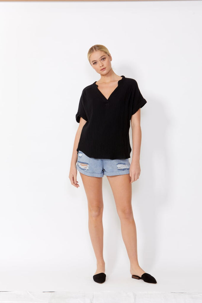DHARMA TOP - BLACK