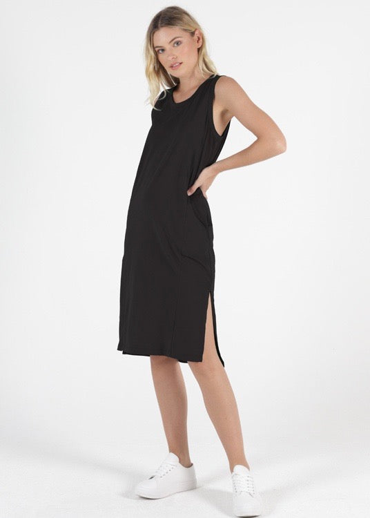 ARWIN DRESS - BLACK