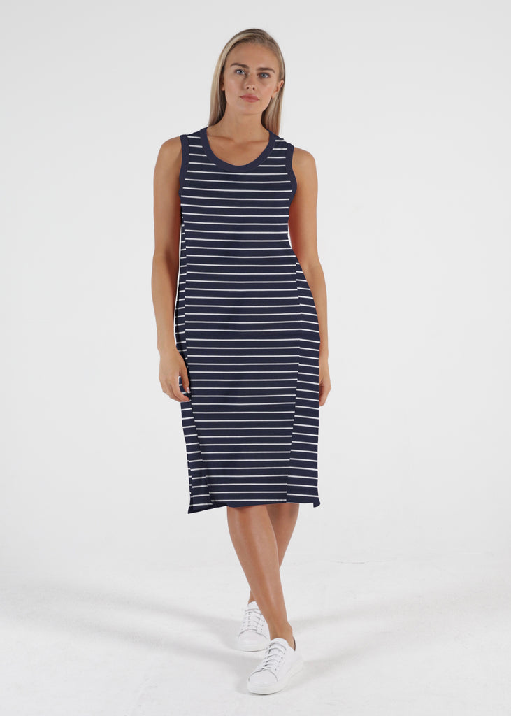 ARWIN DRESS - NAUTICAL