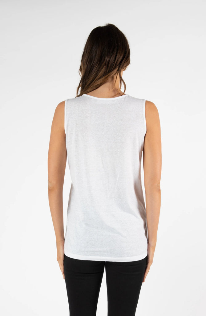 SEATTLE TANK - WHITE