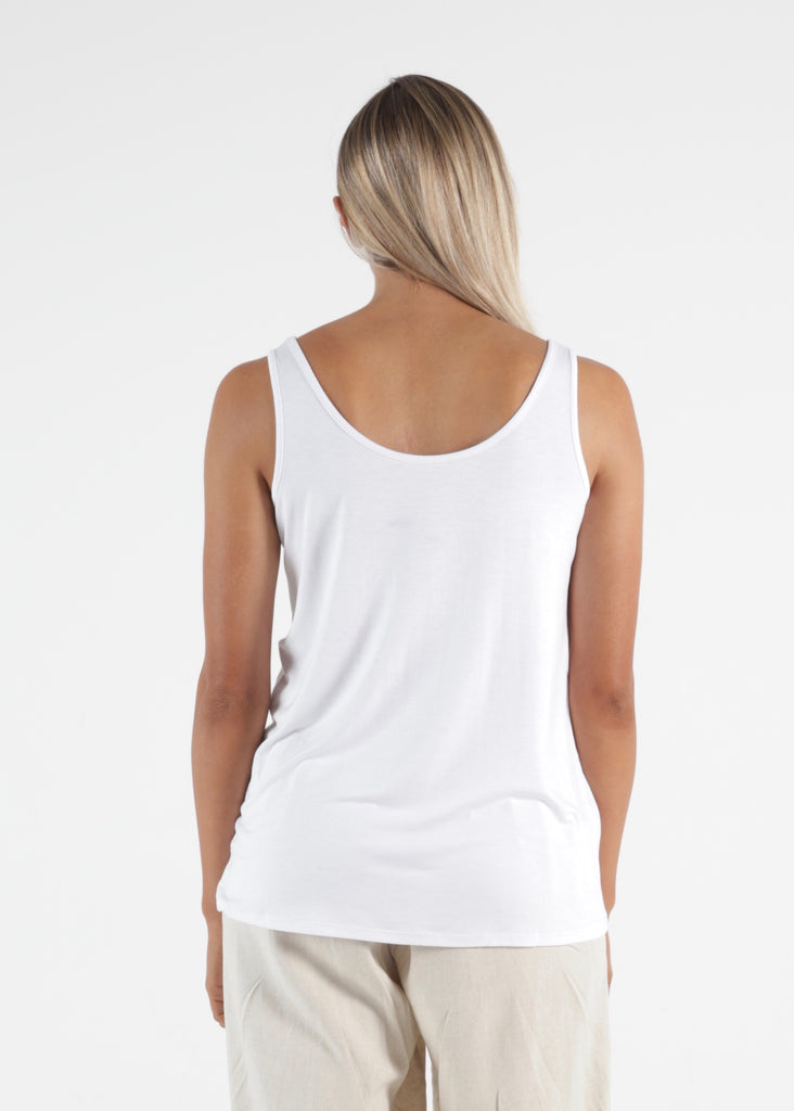 DALLAS REVERSIBLE TANK - WHITE