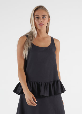 SOFIA TOP - BLACK