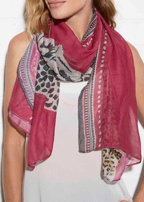 NOMAD SCARF - TRIBAL