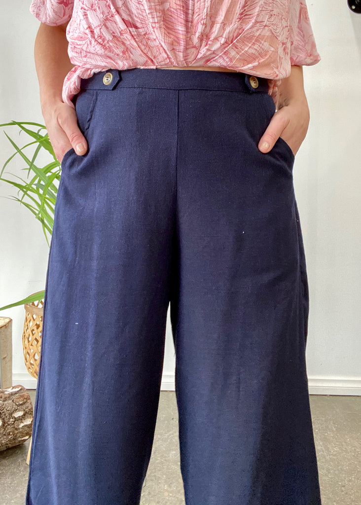 PRESTON PANTS - NAVY